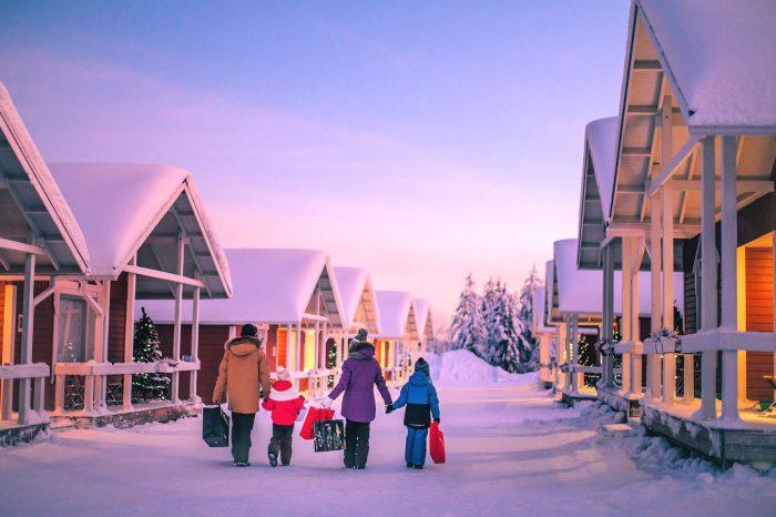 Février 2022, Laponie, Village du Père Noël