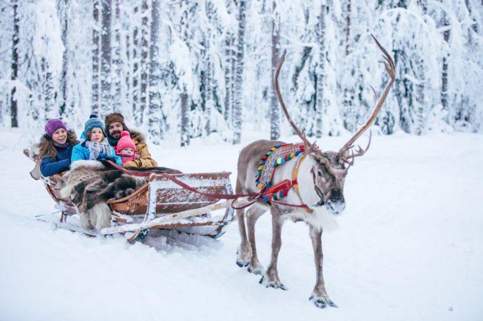 Février 2021, Laponie, Village du Père Noël