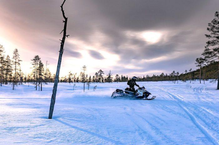 Raid Motoneige en Laponie, Janvier 2020