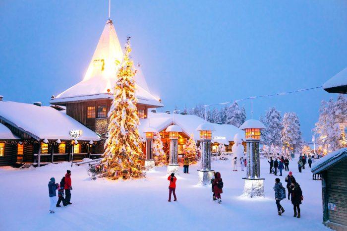 Laponie, à la rencontre du Père Noël, vols directs – 5 jours